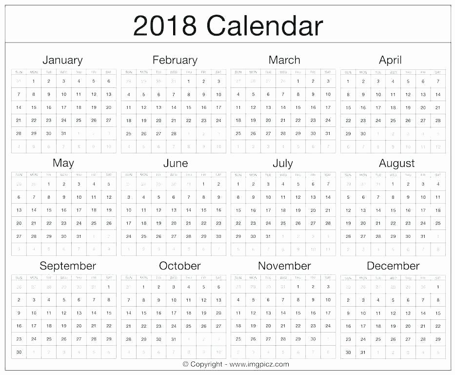 Calendar Template for Photoshop Awesome Calendar Template Shop