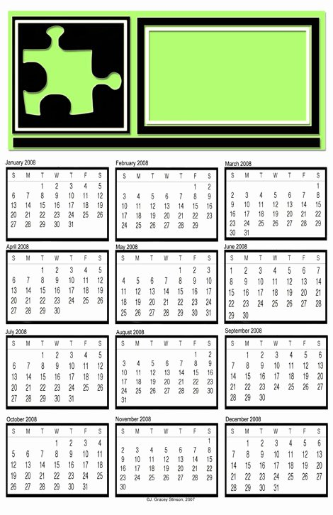 Calendar Template for Photoshop Awesome More Free Calendar Templates for Illustrator Shop