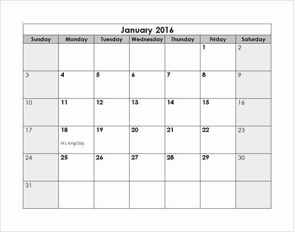 Calendar Template for Photoshop Beautiful Shop Calendar Template