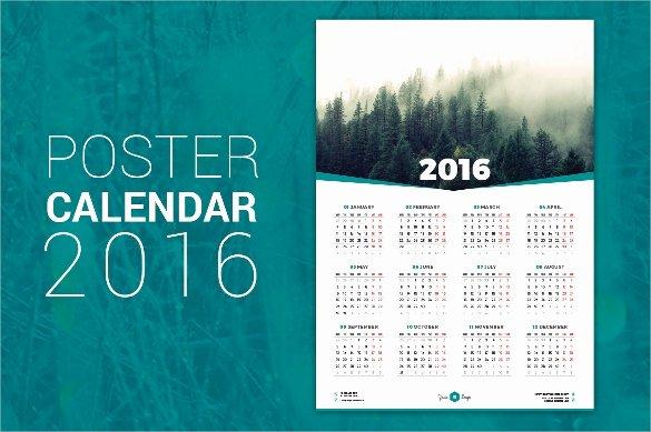Calendar Template for Photoshop Best Of 40 Calendar Templates