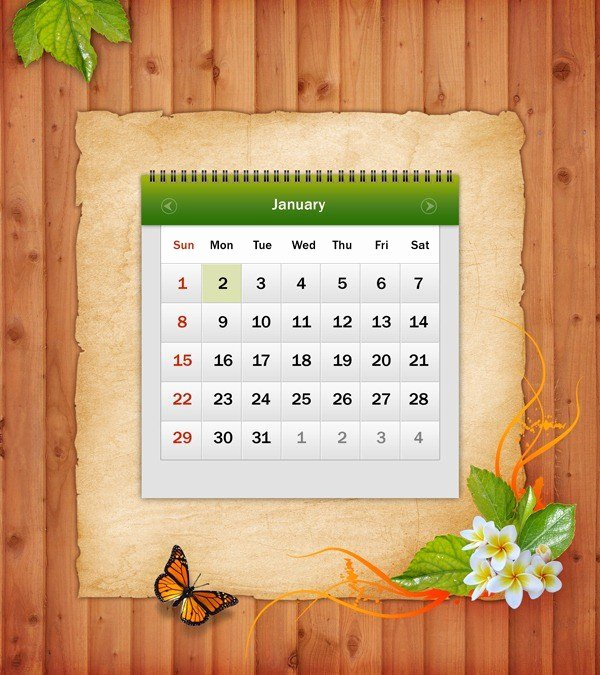 Calendar Template for Photoshop Inspirational How to Make A Calendar Template In Shop