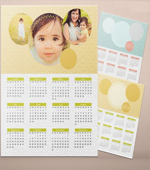 Calendar Template for Photoshop Lovely 17 Calendar Flyer Templates
