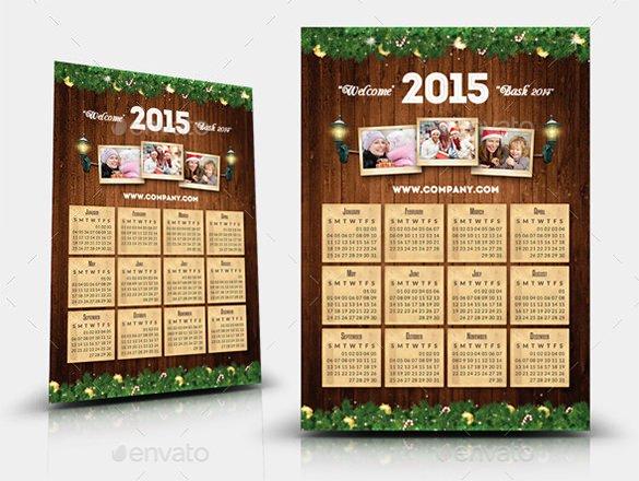 Calendar Template for Photoshop Lovely 20 Psd Calendar Templates & Designs