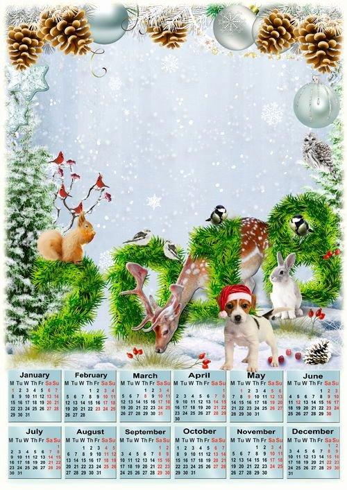 Calendar Template for Photoshop Unique Shop Calendar Template
