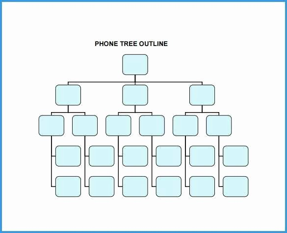 Call Tree Template Word Lovely 97 Calling Tree Template Excel 30 Call Tree Template