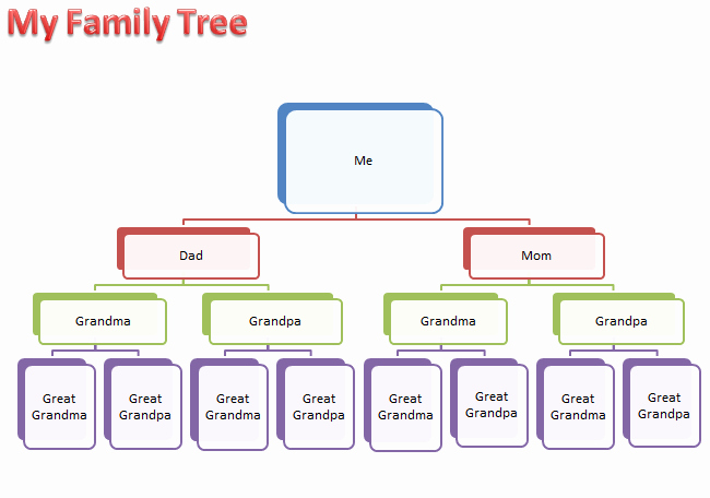 Call Tree Template Word Luxury Make A Family Tree