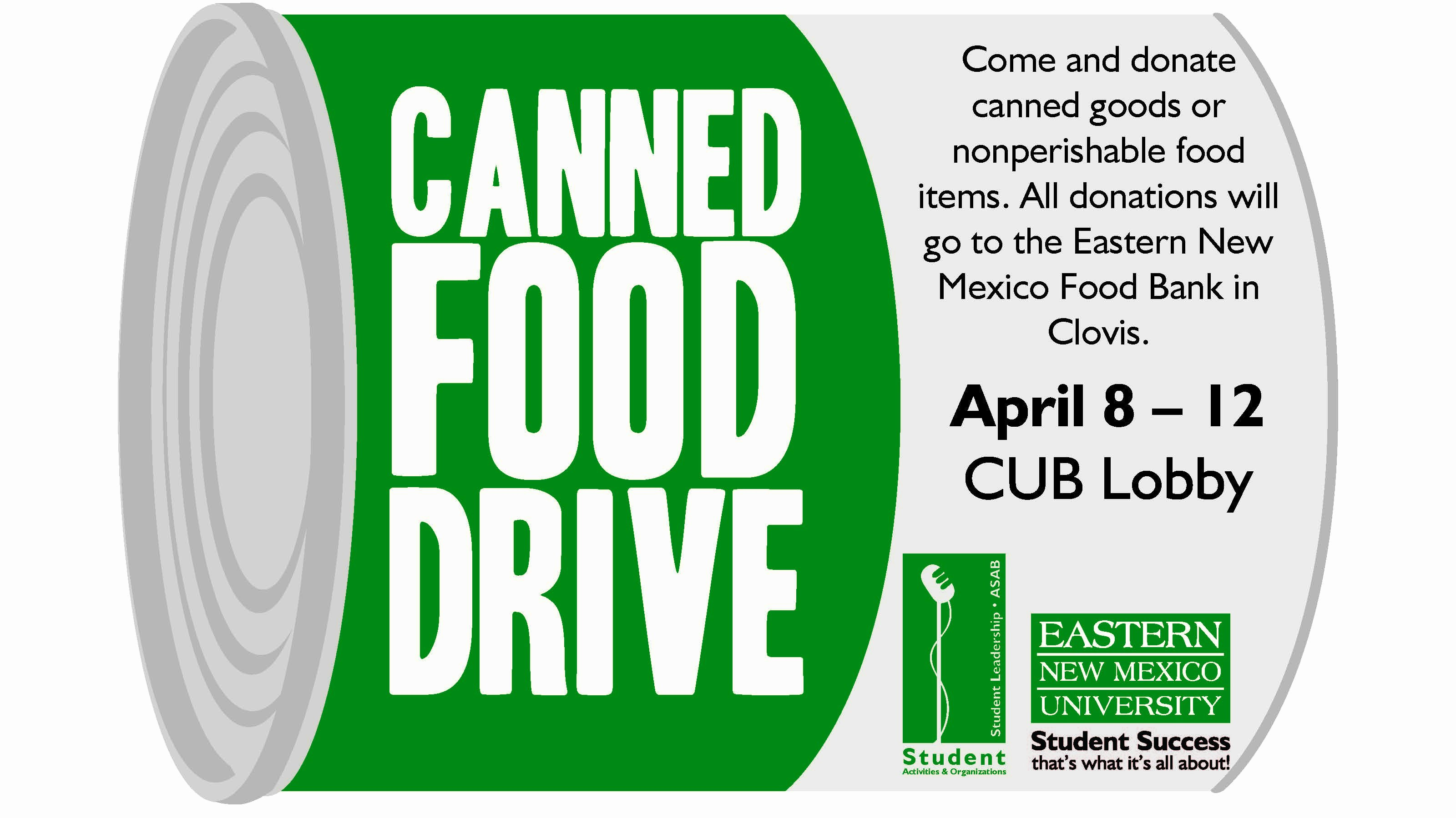 Canned Food Drive Flyer Template Awesome Enmus Canned Food Driv with Customizable Design Templates