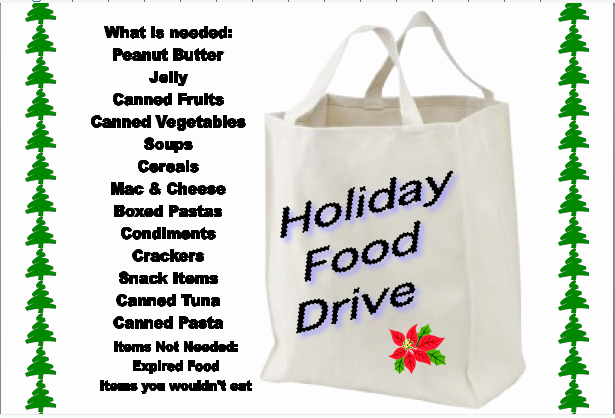 Canned Food Drive Flyer Template Elegant Customize This Flyer for Your Group S Holiday Food Drive