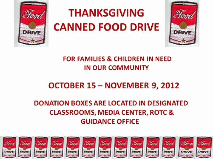 Canned Food Drive Flyer Template Luxury Donation Drive Flyer Template Yourweek 3c04e3eca25e
