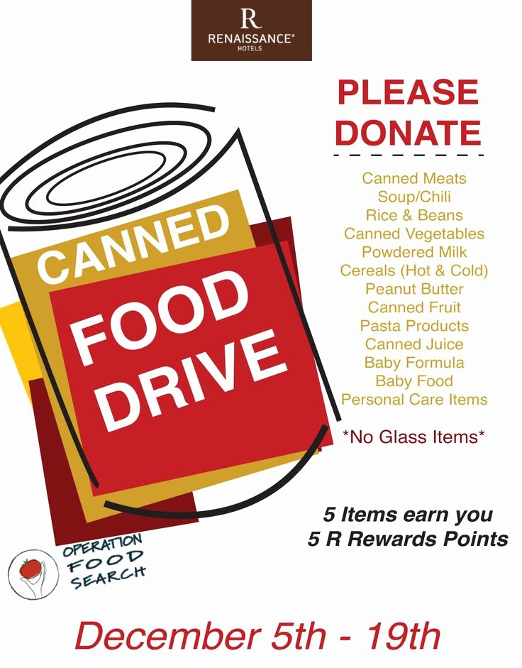 Canned Food Drive Flyer Template New 17 Best Images About Food Pantry On Pinterest