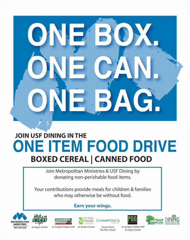 Canned Food Drive Flyer Template New 6 Best Of Food Drive Flyer Ideas Pet Food Drive