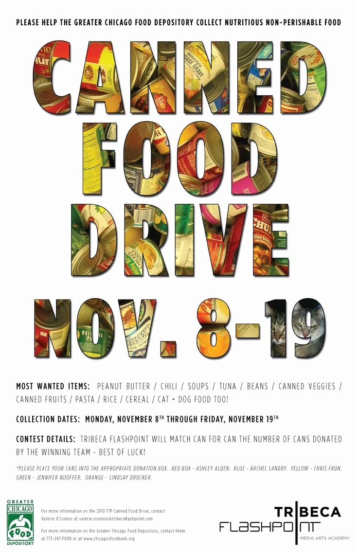 Canned Food Drive Flyer Template New Food Drive Poster Cub Scout Food Drive