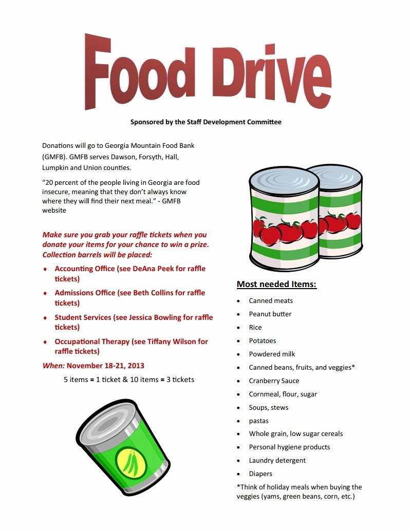 Canned Food Drive Flyer Template Unique 13 Charity Food Drive Poster Designs Holiday Food