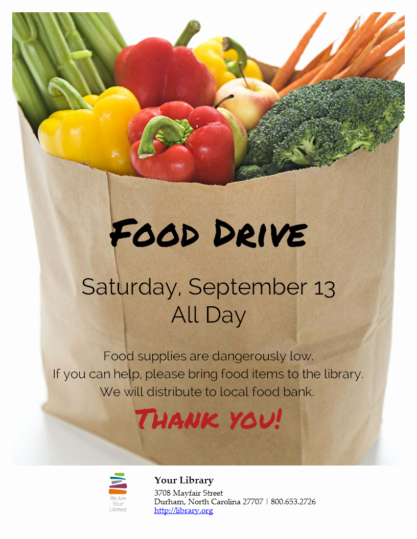 Canned Food Drive Flyer Template Unique are You Hosting A Food Drive Just Add Your Content and