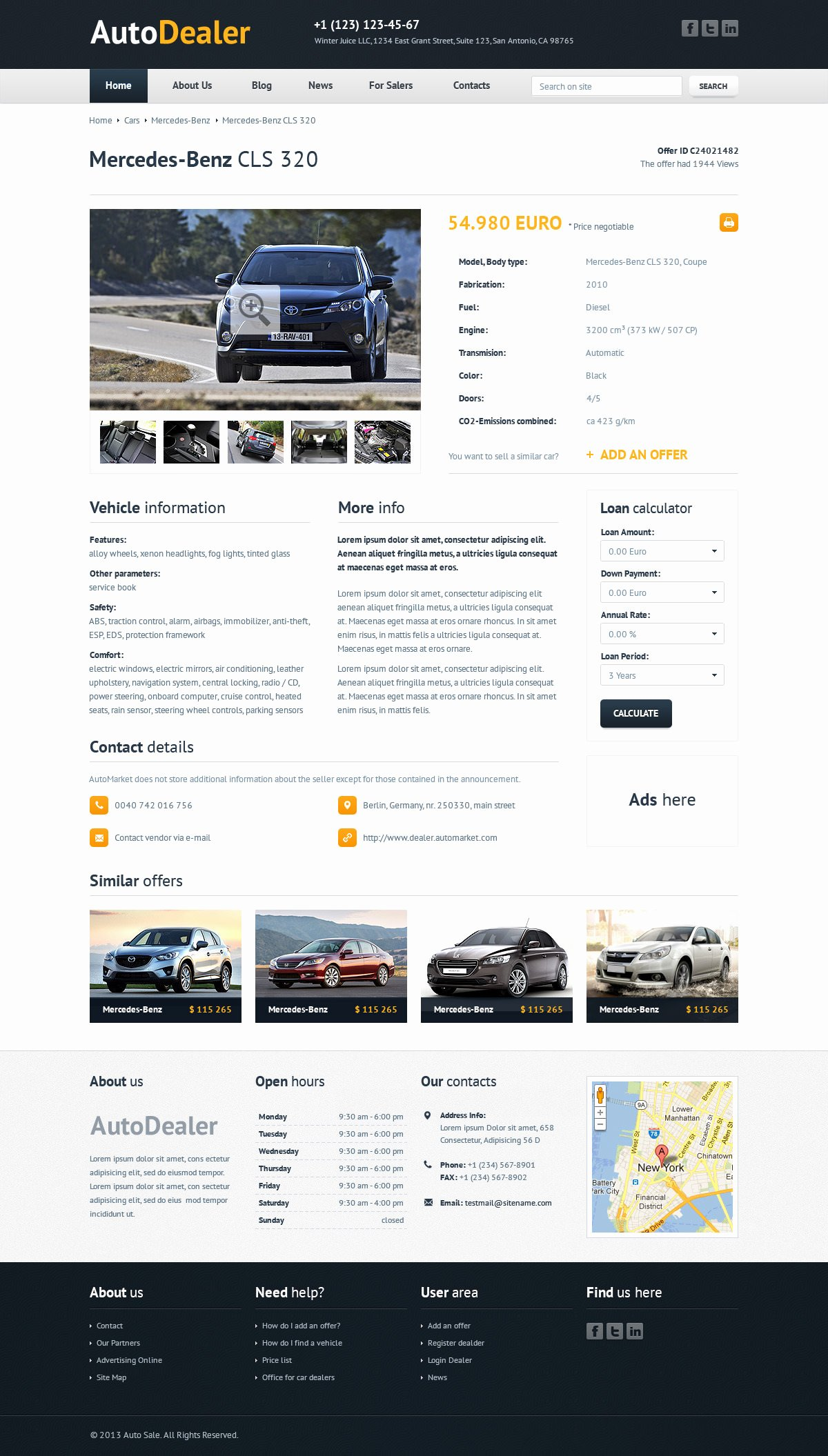 Car Dealer Website Template Free Best Of 22 Best Premium Car Website Templates