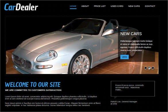 Car Dealer Website Template Free Best Of 28 Car Dealer Website themes & Templates