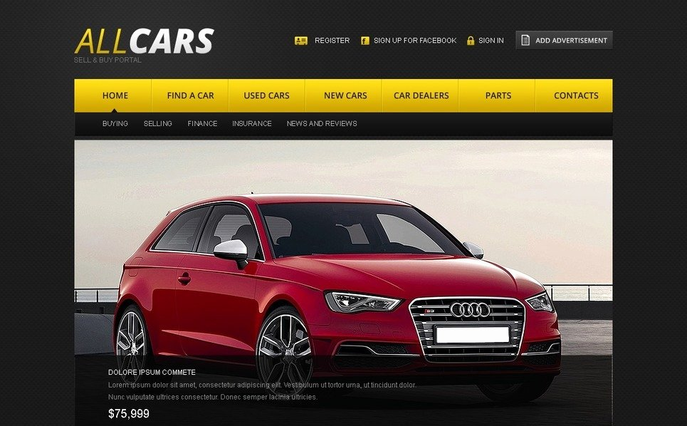 Car Dealer Website Template Free Fresh Car Dealer Website Template
