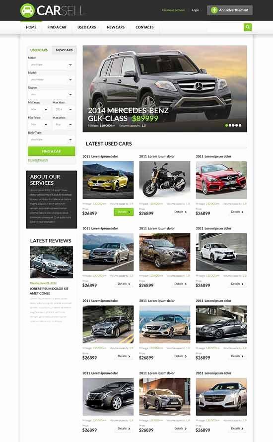 Car Dealer Website Template Free Inspirational 70 Best Car Auto Website Templates Free & Premium