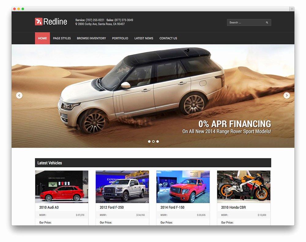 Car Dealer Website Template Free Luxury top 10 Car Dealer Wordpress theme 2015 – Idea for Web
