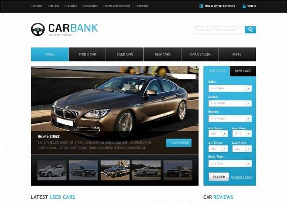 Car Dealer Website Template Free New 28 Car Dealer Website themes & Templates