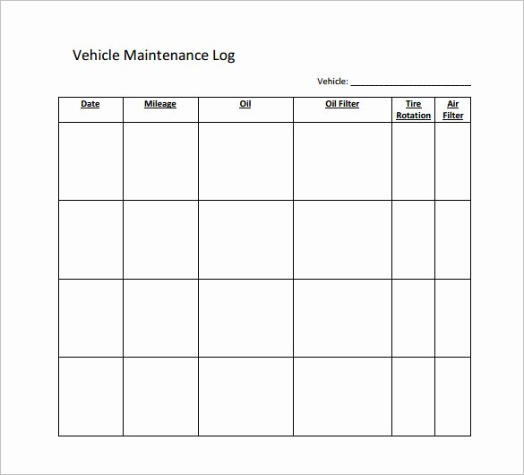 Car Maintenance Schedule Template Unique Maintenance Schedule Templates 35 Free Word Excel Pdf