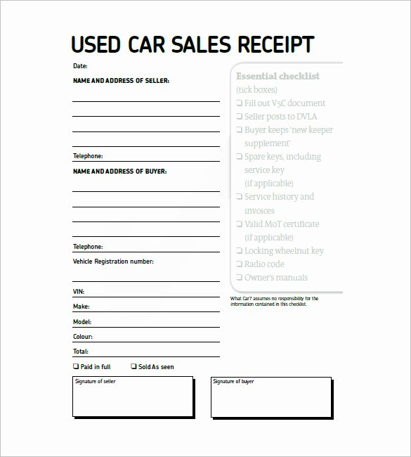 Car Sales Invoice Template Unique Car Invoice Templates 18 Free Word Excel Pdf format