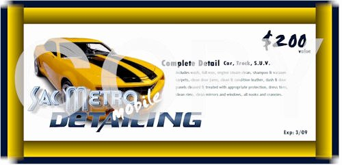 Car Wash Gift Certificate Template Best Of Sacramento Mobile Detailing Mobile Hand Car Wash