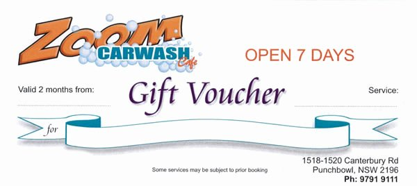 Car Wash Gift Certificate Template Inspirational Car Wash Gift Certificate Gift Ftempo