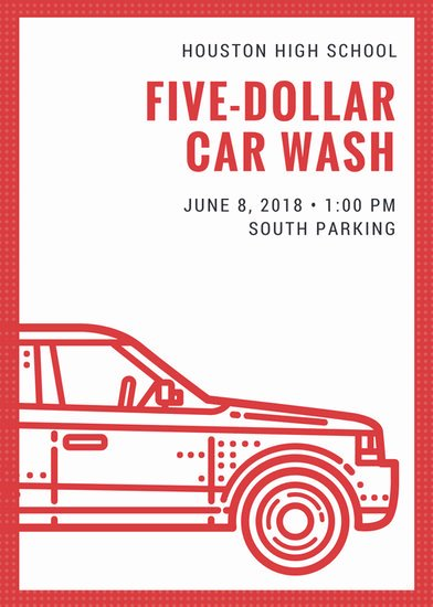 Car Wash Gift Certificate Template Lovely Customize 77 Car Wash Flyer Templates Online Canva