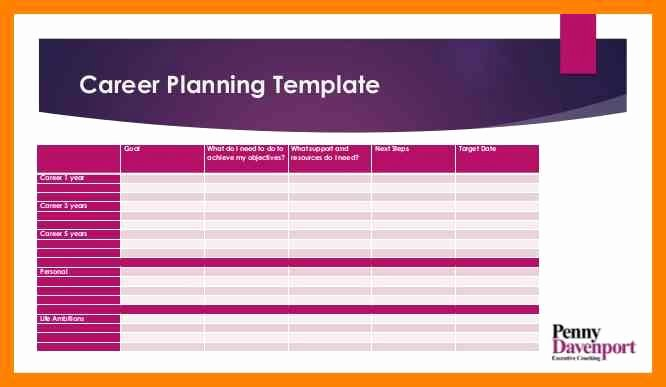 Career Path Planning Template New 13 Career Plan Template