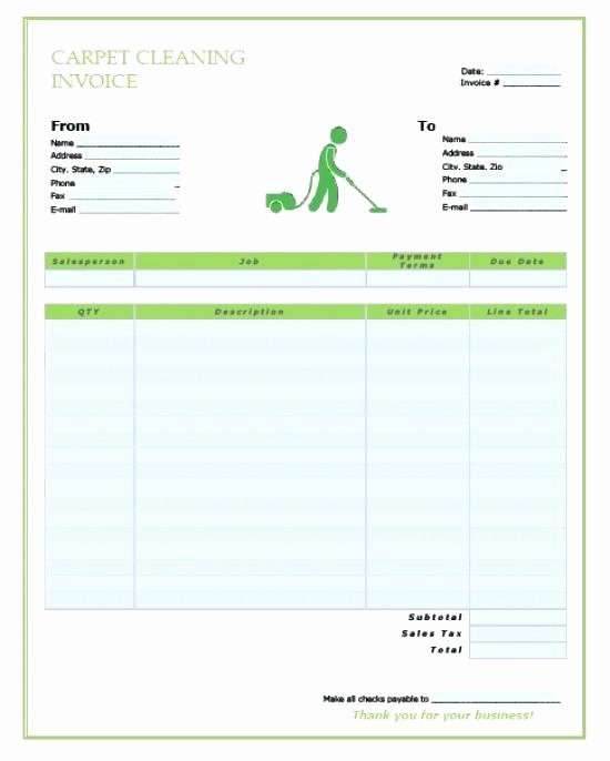 Carpet Cleaning Invoice Template Fresh Carpet Cleaning Proposal Exle Carpet Vidalondon