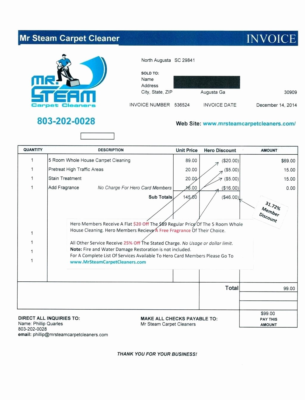 Carpet Cleaning Invoice Template Inspirational Template Carpet Cleaning Invoice Template Style 1 Carpet