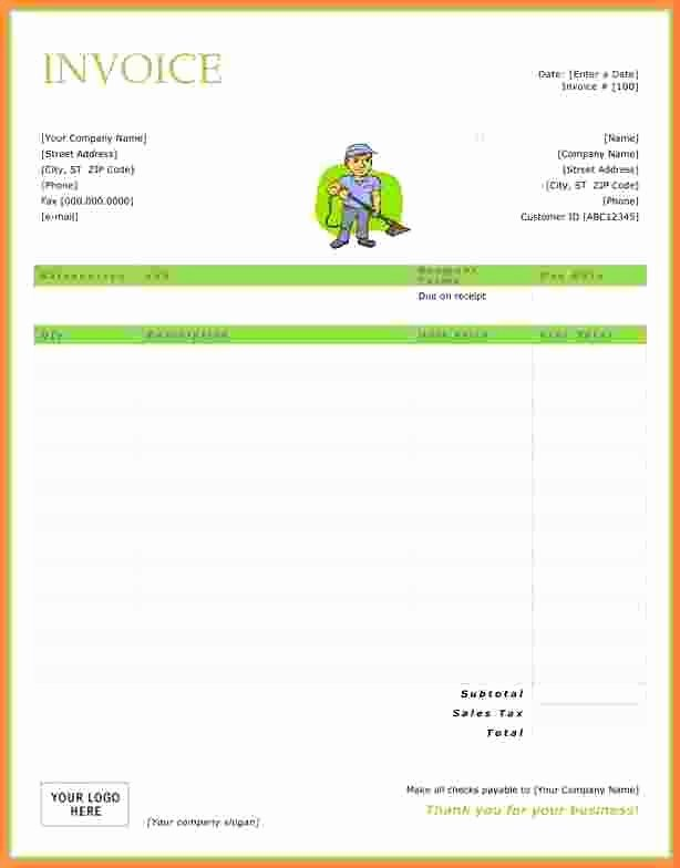 Carpet Cleaning Invoice Template Luxury Free Carpet Cleaning Invoice Template 10 Small but