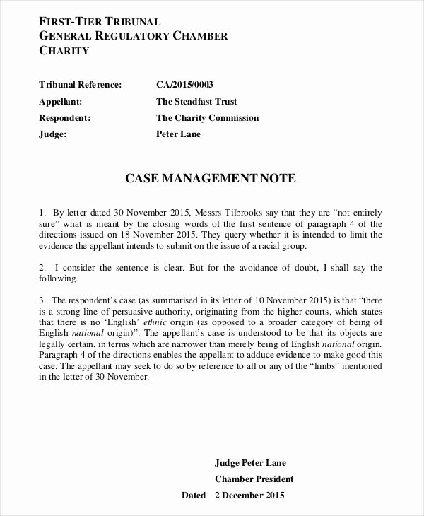 Case Management Notes Template Fresh 21 Note Template