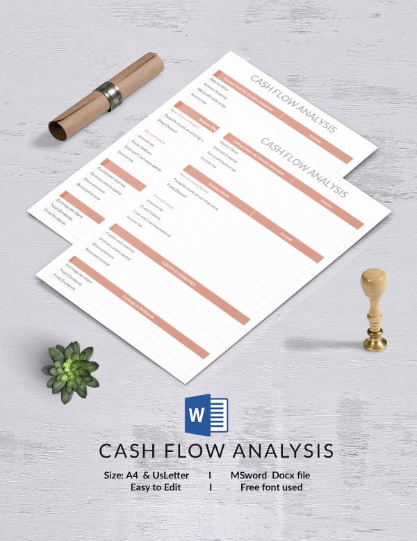 Cash Flow Analysis Template Inspirational 13 Free Analysis Templates Swot Petitive Gap
