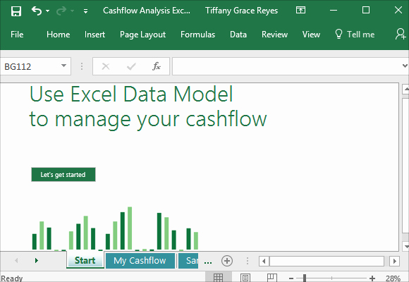 Cash Flow Analysis Template Luxury Cash Flow Analysis Template for Excel