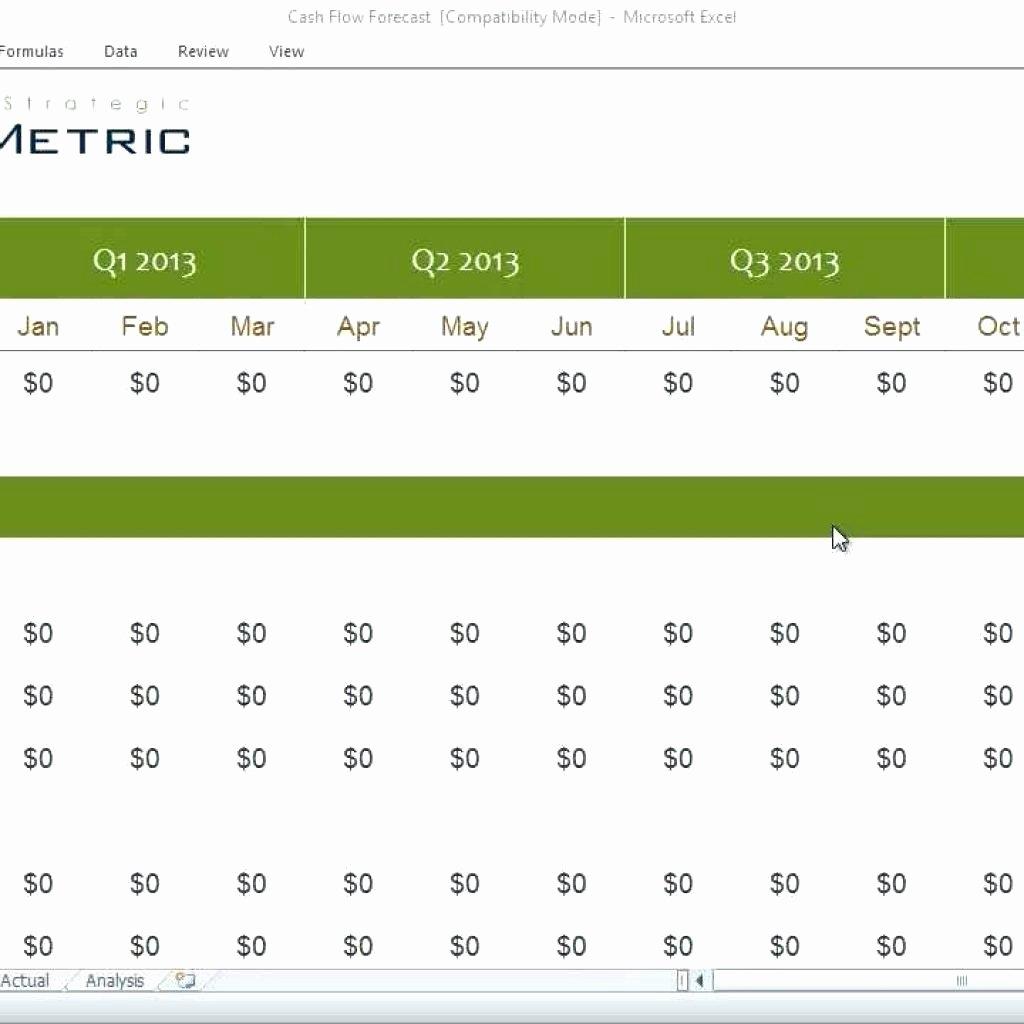 Cash Flow Chart Template Beautiful Template Excel Template Cash Flow