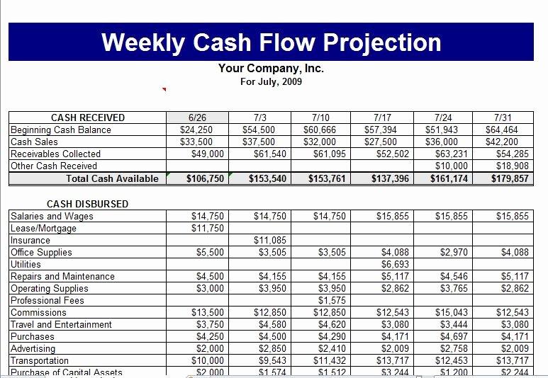 Cash Flow Chart Template Elegant Cash Flow Template
