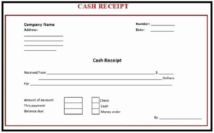 Cash Receipts Template Excel Elegant 6 Free Cash Receipt Templates Excel Pdf formats