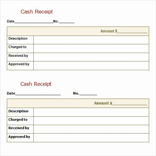 Cash Receipts Template Excel Elegant Receipt Template 15 Download Free Documents In Pdf
