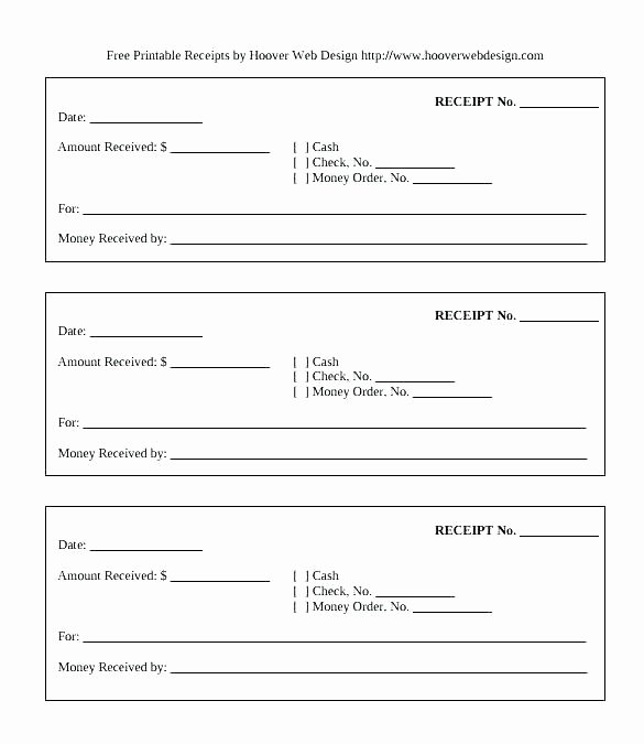 Cash Receipts Template Excel Lovely Money Receipt Template Microsoft Word Receipts format