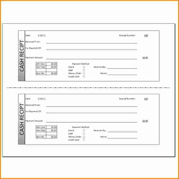 Cash Receipts Template Excel Luxury 8 Cash Receipt forms