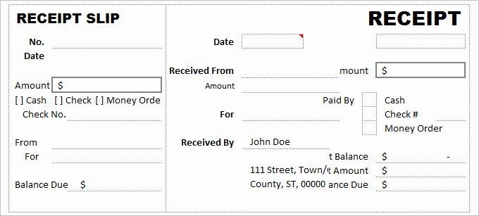 Cash Receipts Template Excel Luxury Cash Receipt Template Archives 2019 Calendar Printable