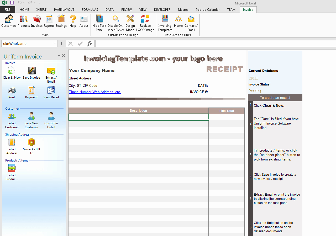 Cash Receipts Template Excel New Blank Cash Receipt Free Invoice Templates for Excel Pdf