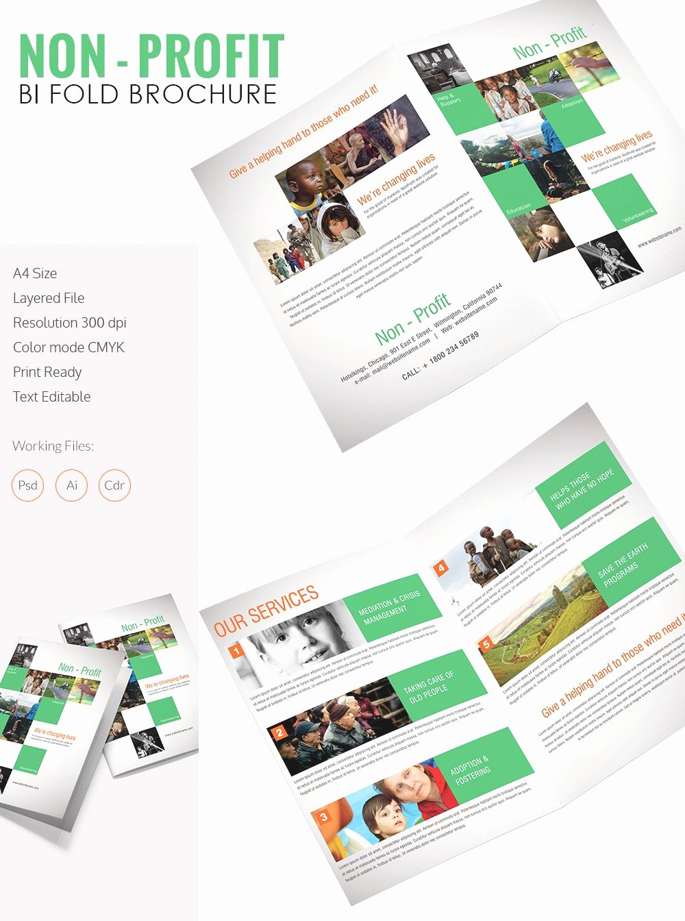 Catalogue Template for Word Elegant Bi Fold Brochure Template Word Mughals