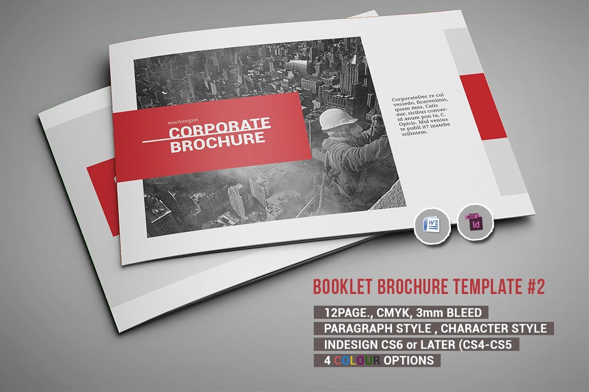 Catalogue Template for Word Inspirational Booklet Brochure Template 2 Brochure Templates