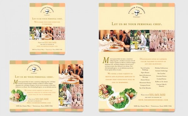 Catering Flyer Template Free Awesome 25 Awesome Catering Flyer Templates Ai Psd Docs Pages