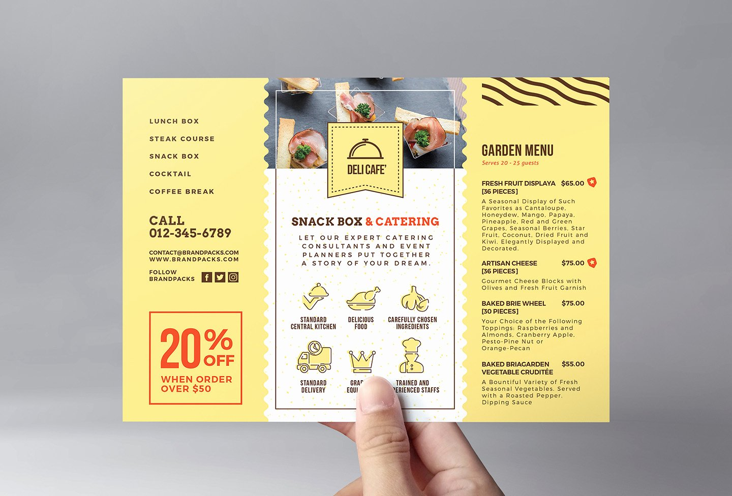 Catering Flyer Template Free Elegant Catering Service Flyer Template Psd Ai & Vector