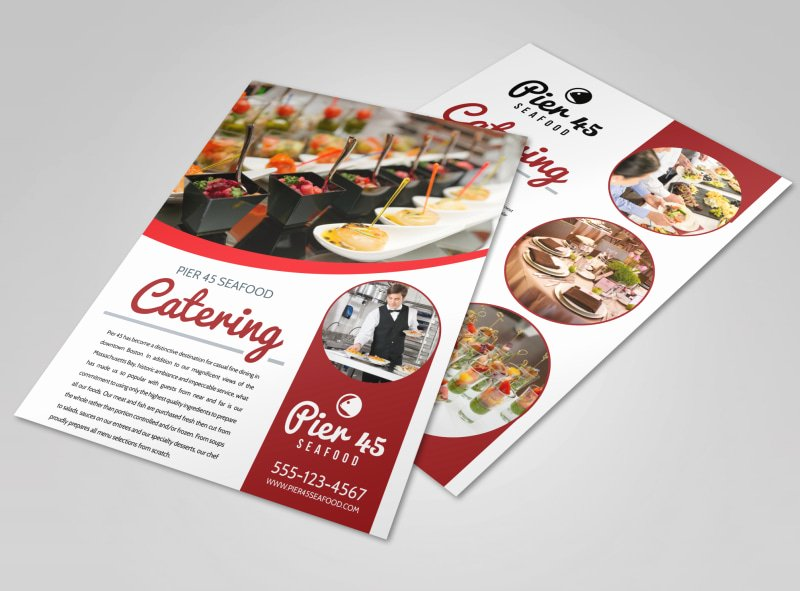 Catering Flyer Template Free Lovely Catering Services Fered Flyer Template