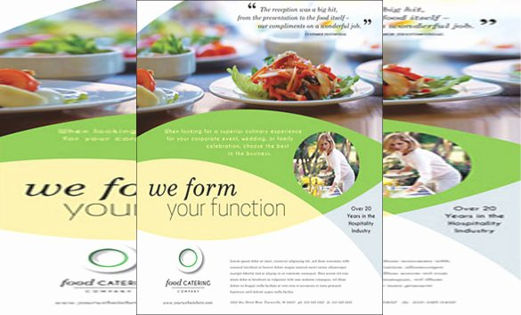 Catering Flyer Template Free New 23 Catering Flyers Psd Ai Vector Eps